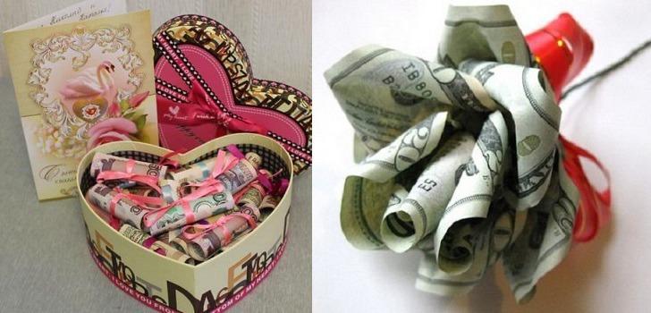 в казино деньги подарок